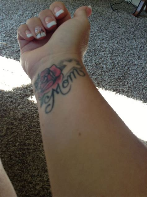 mom tattoos on wrist 70 most attractive flower tattoos golfian