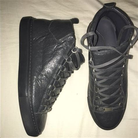 authentic balenciaga arena high sneakers lace lost and balenciaga shoes
