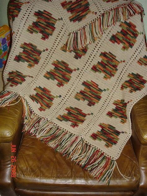 leaf pattern afghan falling leaves final by jkbiberstein via flickr crochet