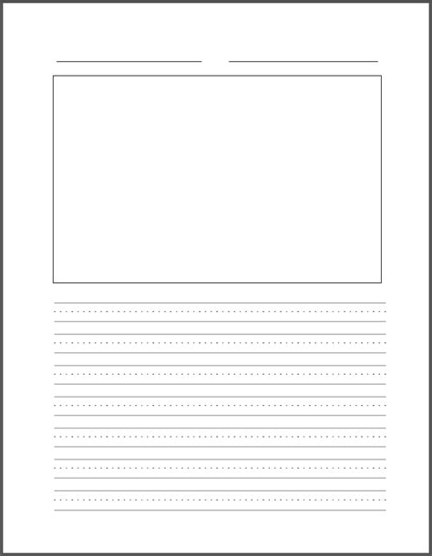Blank Handwriting Sheets Hand Writing Blank Writing Template