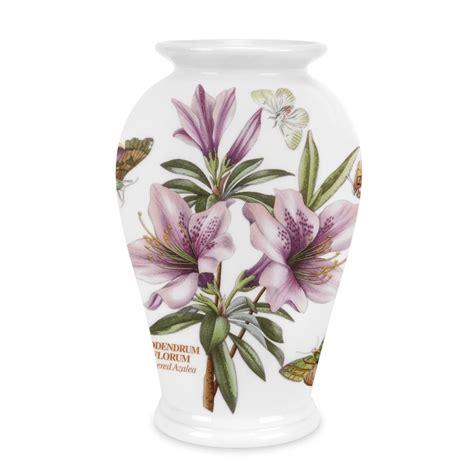 Portmeirion Botanic Garden Vase Portmeirion Botanic Garden Canton Vase 8 Inch Flowered Azalea Portmeirion Uk