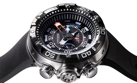 citizens dive watches the citizen eco drive promaster aqualand depth meter