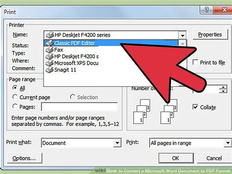 7 Ways To Convert A Microsoft Word Document To Pdf Format Convert Word Template To Pdf Form