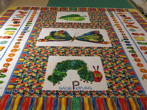 Hungry Caterpillar Quilt Pattern by Cheeky Cognoscenti Update The Hungry Caterpillar