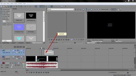 cara membuat intro video di vegas cara membuat texs intro di sony vegas pro b2c team