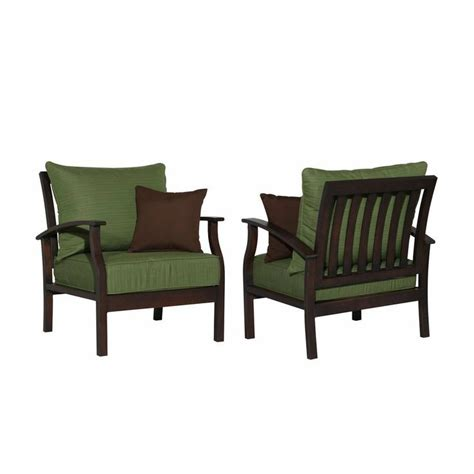 allen roth patio furniture allen roth gatewood patio chairs set of 2