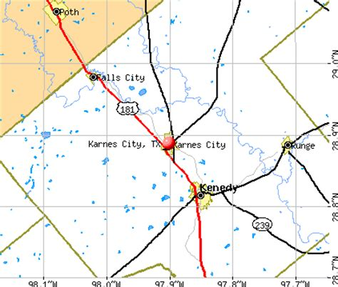karnes city texas map karnes city texas tx 78118 profile population maps real estate averages homes