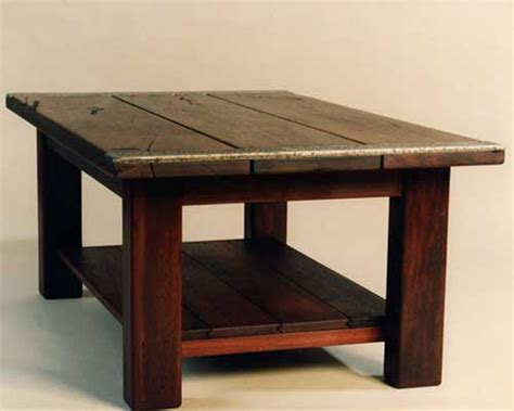 Recycled jarrah furniture, Ironwood Studio