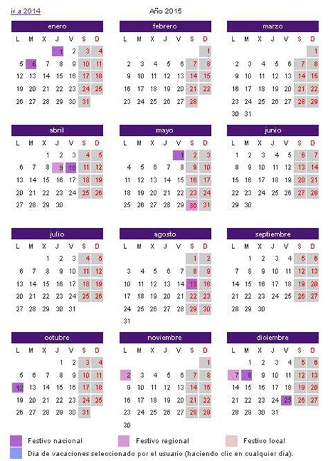 Calendario Dias Festivos 2015 Calendario Laboral 2015 Canarias Definanzas