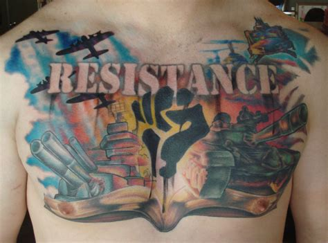 resistance tattoo resistance chestpiece 171 sole