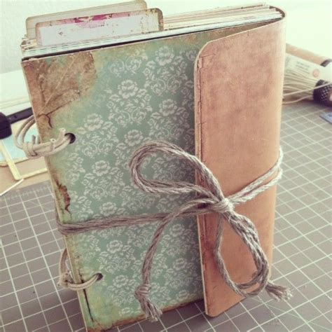 How To Make A Journal Out Of Paper - 17 best images about mini scrapbook albums on