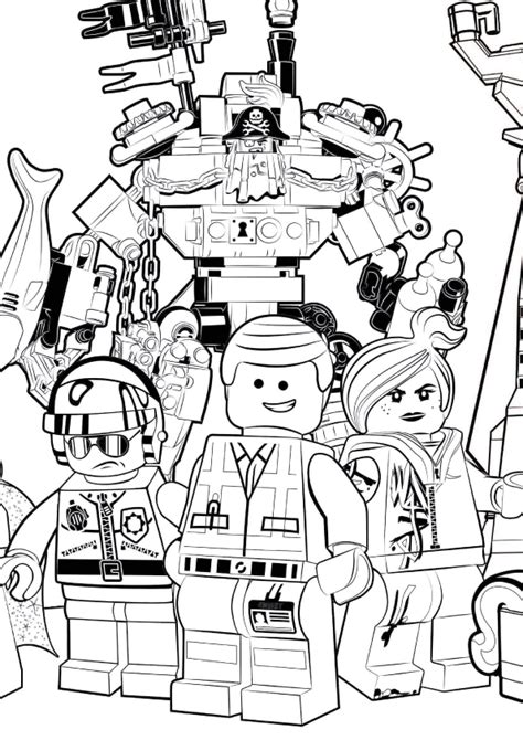 how to draw the lego movie