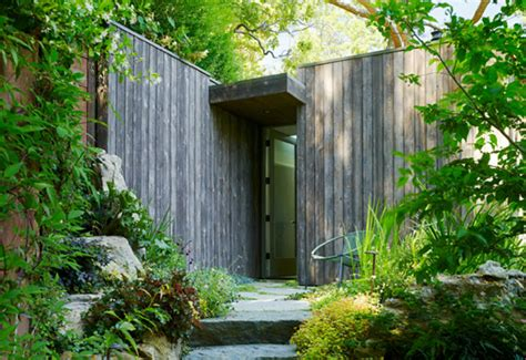mill valley cabins are green roofed low impact studios