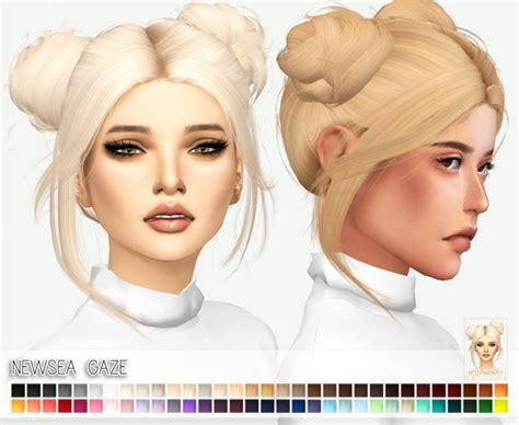 the sims 4 cc hairstyles miss paraply newsea s gaze hair retextured sims 4 downloads