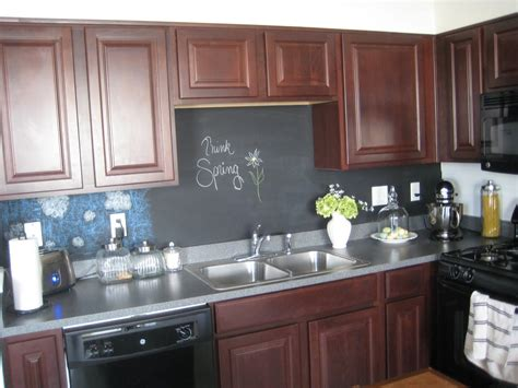 Chalkboard Kitchen Backsplash A Comfy Place Of My Own Chalkboard Backsplash