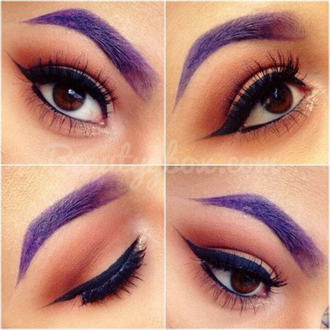 Eyeliner Casandra neutral eyeshadow purple eyebrows once upon a time the