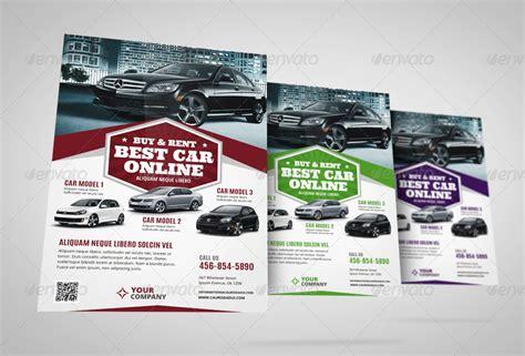 automotive car sale rental flyer ad vol 6 by jbn comilla