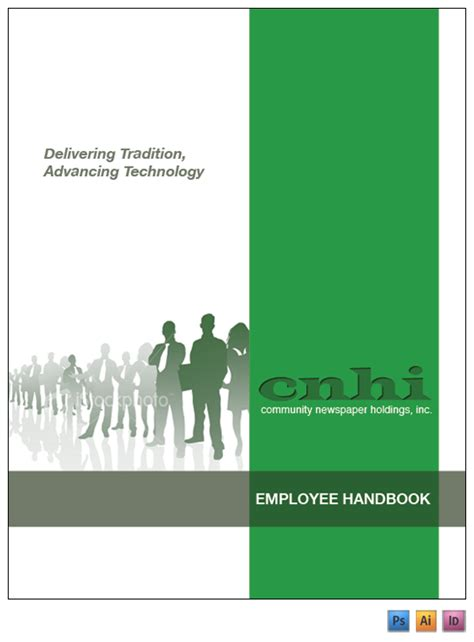 cnhi employee handbook on behance
