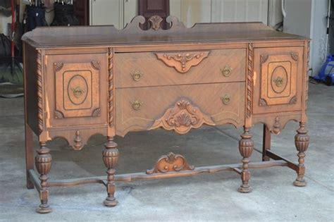 Sale Small Server 6 antique sideboard makeover