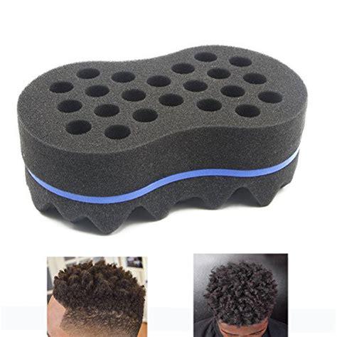 amazon magic twist hair brush sponge 10 mm hole beauty riorand magic twist hair sponge barber sponge brush 2 in 1