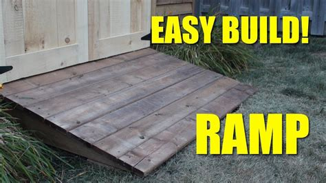 ramp   shed youtube