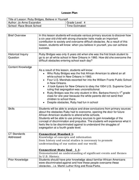 Social Studies Primary Source Lesson Plan 2011docx 1 5 E Lesson Plan Template Social Studies