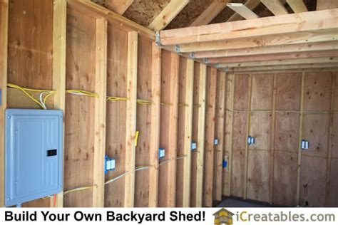 shed electrical wiring shed free engine image for user
