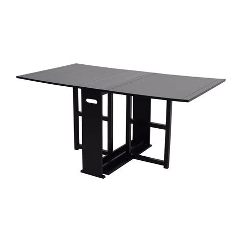 Fold Away Dining Tables 52 Crate And Barrel Crate Barrel Gateleg Drop Leaf Fold Away Dining Table Tables