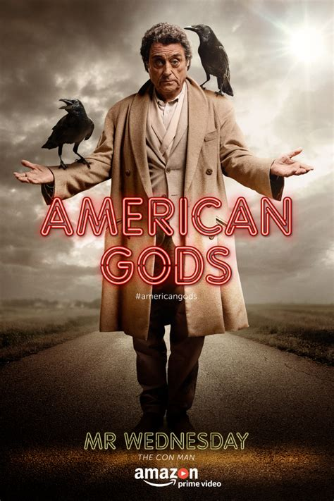 american gods tv tie in amazon co uk neil gaiman what you should know about american gods first episode lead characters before it premieres