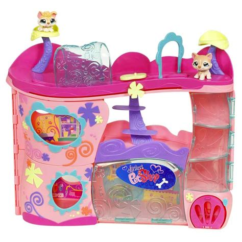 lps houses walmart amazon com littlest pet shop pet adoption center playset