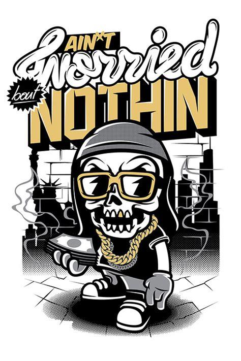 imagenes de calaveras hip hop skull hiphop by thinkd on deviantart
