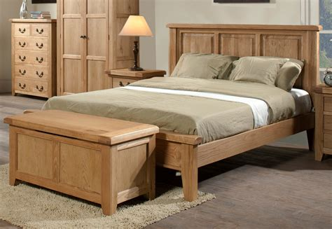 bed wood somerset oak wooden bed frame light wood wooden beds