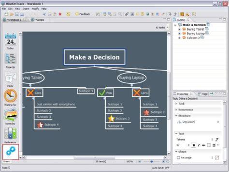 software untuk membuat mind map membuat mind map otomatis dengan mindontrack pusat gratis
