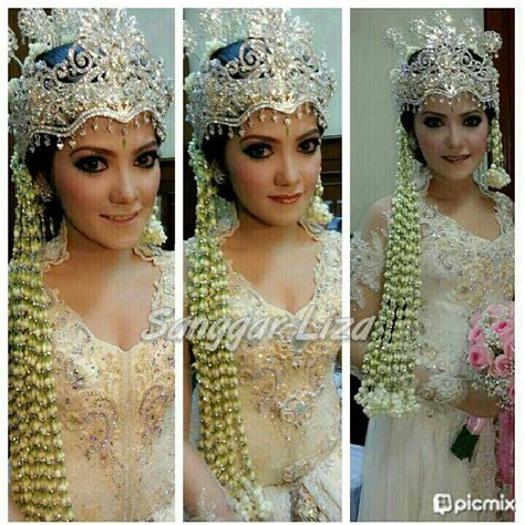 tutorial rias pengantin adat sunda adat sunda wedding ideas pinterest