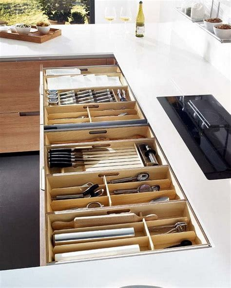 35 kitchen drawer organizing ideas diy organized living