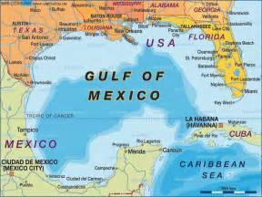 map us states gulf mexico map of gulf of mexico united states usa mexico map