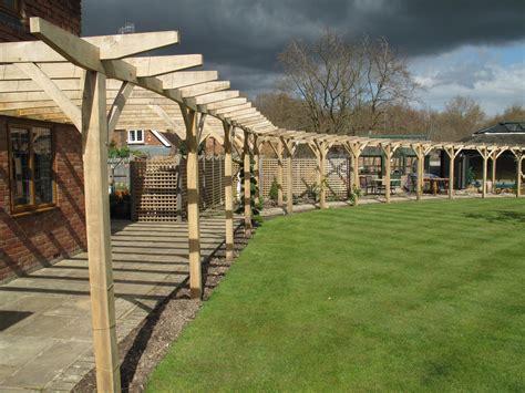 Green Oak Pergola by Oxford Oak Blog Green Oak Garden Furniture And Structures