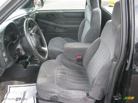 2000 Chevy S10 Interior by Graphite Interior 2000 Chevrolet S10 Xtreme Regular Cab