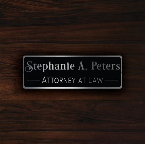 Custom Door Signs by Custom Door Name Plaque Sign Decamoda