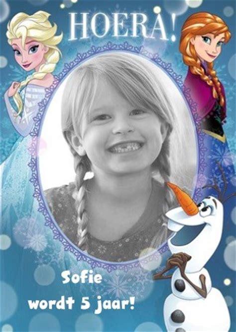 een film van frozen 2 kaarten verjaardag kids meisje disney km hallmark