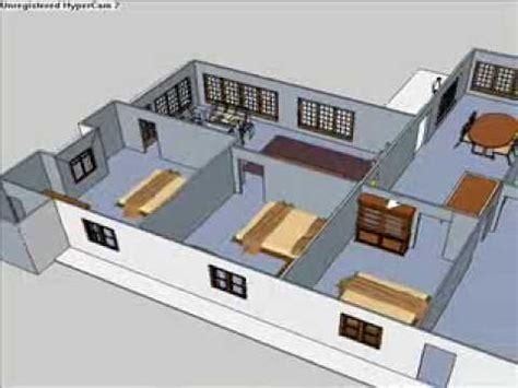 tutorial menggambar rumah dengan sketchup 8 rumah kita sketchup pro youtube
