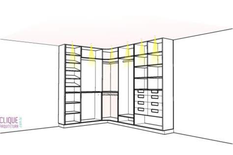 Programa Para Desenhar Planta Baixa Com Medidas closet aspectos construtivos clique arquitetura