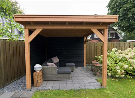 veranda zwart hout jumbowood veranda royal