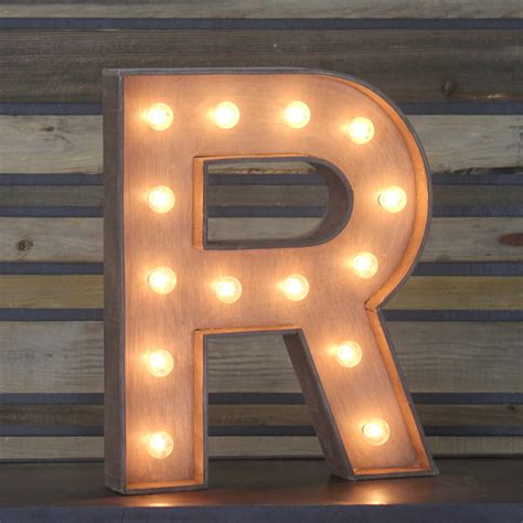 r for edison marquee letter quot r quot town country event rentals