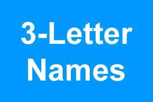 3 letter boy names 3 letter boy names