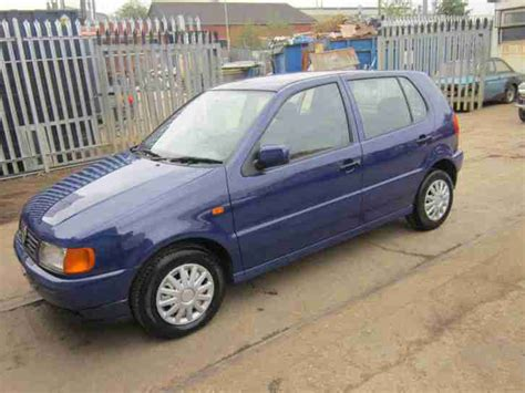 volkswagen polo 1999 vw polo 1 4 5 door 1999 t reg 163 595ono car for sale