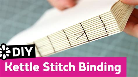 stitches diy diy kettle stitch bookbinding tutorial sea lemon