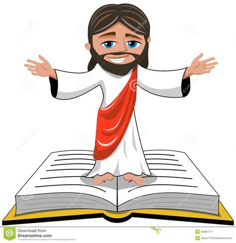 Scripture Wall Stickers jesus christ open hands bible gospel isolated stock vector