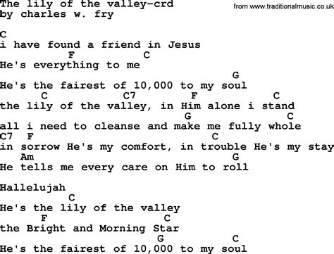 of velly lyrics top 500 hymn the of the valley lyrics chords and pdf