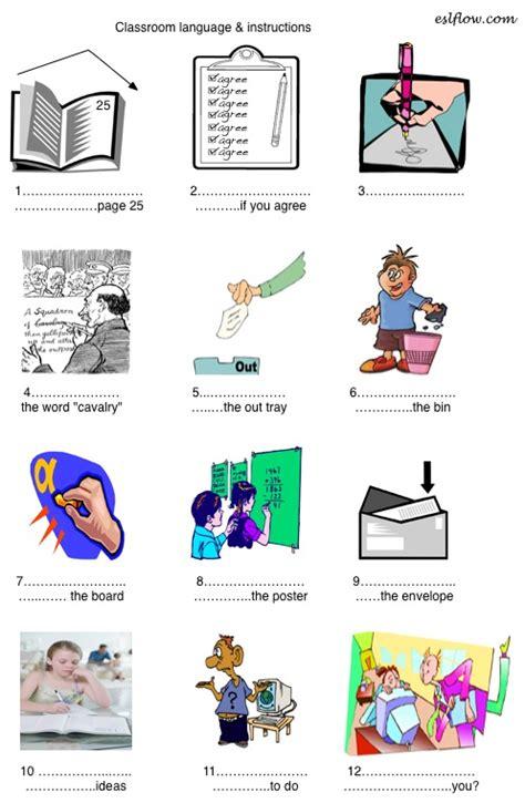 printable instructions classroom classroom commands instructions worksheet classroom